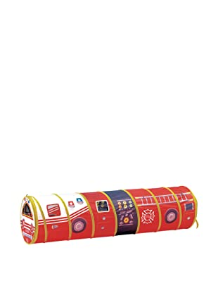 Pacific Play Tents Fire Engine 6' Tunnel, Red
