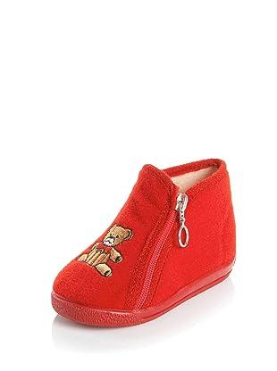 Cienta Infant/Toddler 131-27 Slipper (Rojo)
