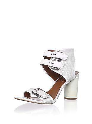 Boutique 9 Women's Rosemarie Sandal (White/white)