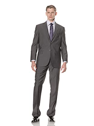 Yves Saint Laurent Men's Multi Pinstripe Suit (Grey)