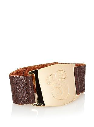 Lisa Stewart Gold S Initial Cuff Bracelet