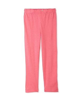 TroiZenfants Girl's Knit Leggings (Pink)