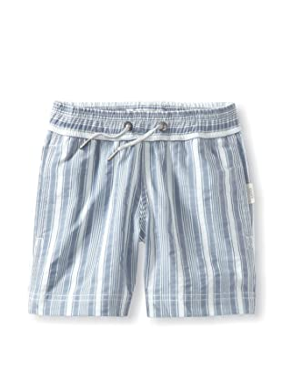 Onia Boy's Charlie Trunks (Ocean/White Stripe)