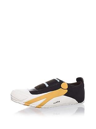 Cushe Women's Bikini Slip-On Sneaker (Brown/Orange)