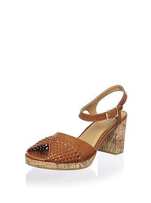 Bass Women's Amberly Sandal (Brown)