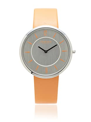 Johan Eric Women's JE5001-04-001.79 Vejle Slim Orange Leather Watch