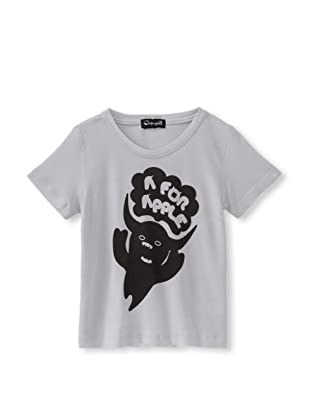 A for Apple Rat T-Shirt with G&M Graphic (Grey)