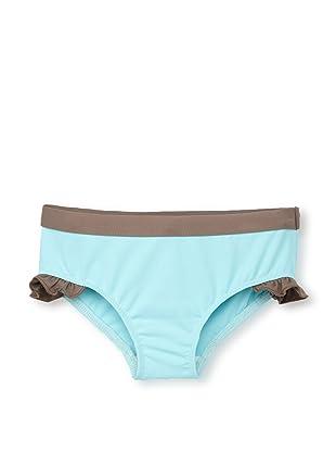 Les UltraViolettes Girl's Scoubidou Shorty Swim Short (Turquoise)