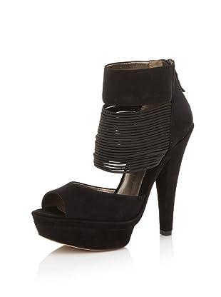 HK by Heidi Klum Women's Gillian Platform Sandal (Black)