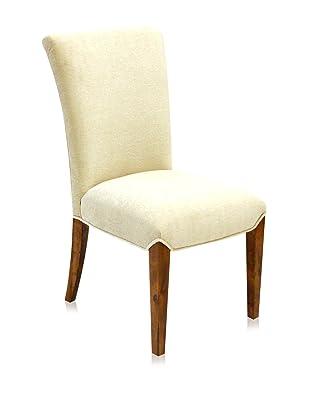 Armen Living Kennedy Side Chair, Cream