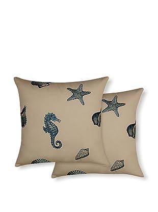 Dakota Set of 2 Kemps Bay Pillows (Ocean)