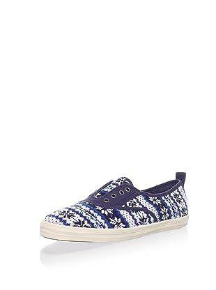 Keds Women's Fair Isle Fashion Sneaker (Blue)