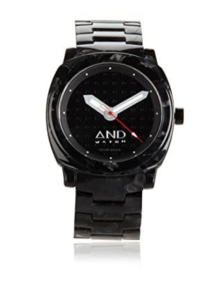 AND Watch Unisex Socrates Black Cellulose Acetate Watch