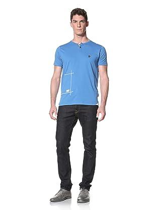 Marshall Artist Men's Naval Gym T-Shirt (Electric Blue)