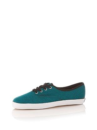 Keds Women's Champion Jersey Stripe Sneaker (Harbor Blue/Black)