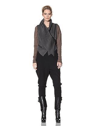 Haider Ackermann Women's Asymmetrical Vest (Anthracite)