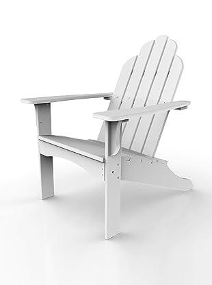Malibu Outdoor Furniture Yarmouth Adirondack Chair (White)