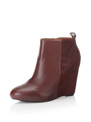 Pour La Victoire Women's Gianni Boot (Oxblood Cow Fur/Nappa)
