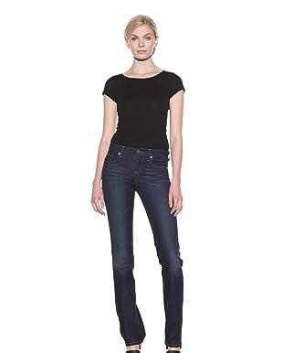 Henry & Belle Women's Ideal Straight Leg Jean (Dark Vintage)