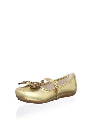 Pampili Kid's Party Mary Jane (Gold)