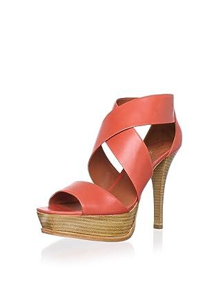 Pour La Victoire Women's Tifara Platform Sandal (Red)