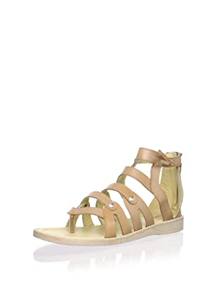 Billowy Kid's Gladiator Sandal (Brown)