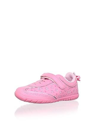 Pampili Kid's Hearts Sneaker (Rose)