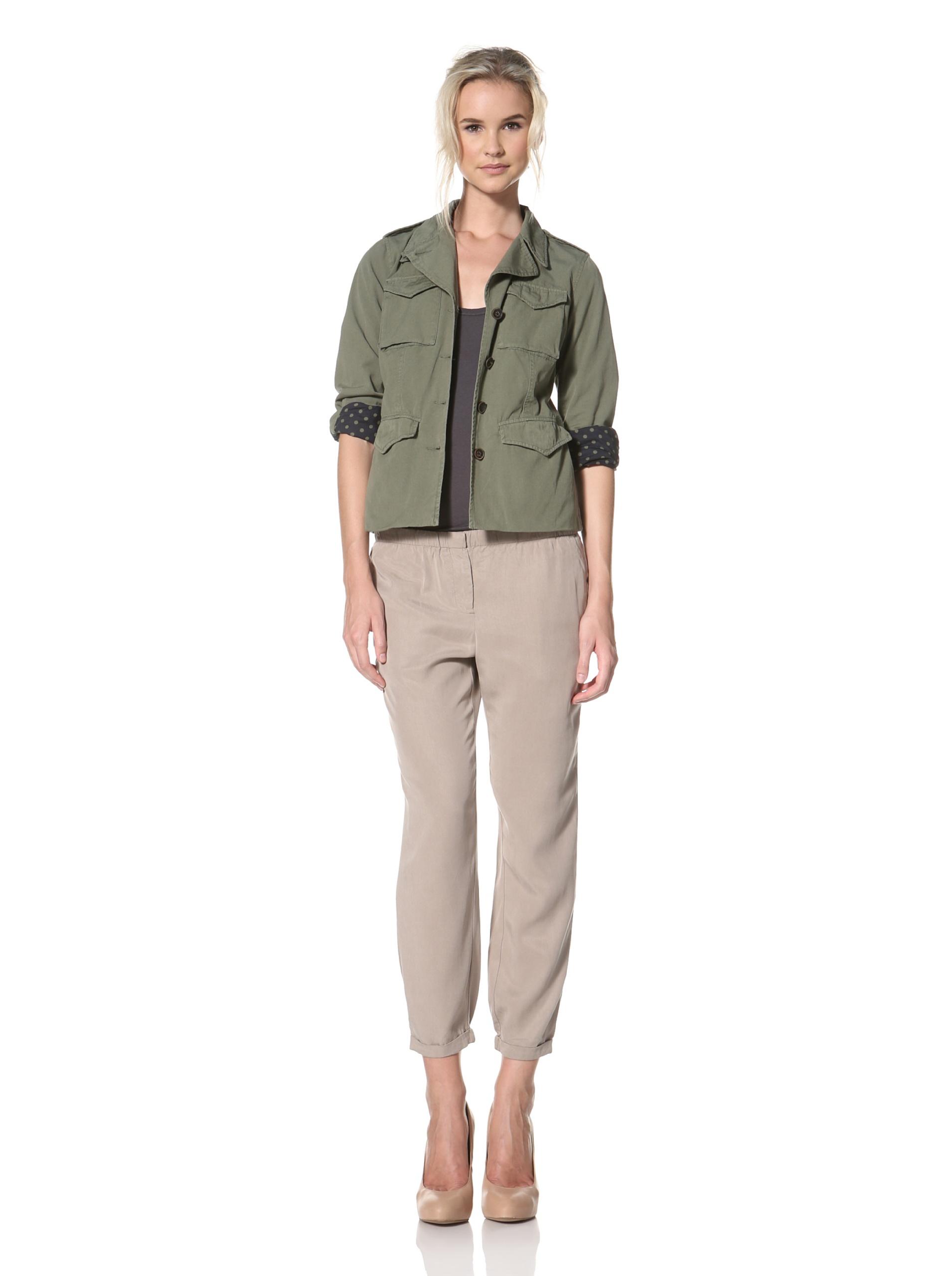 Trovata Women's Fernleaf Pant (Khaki)