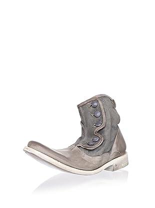 John Varvatos Men's Bowery Button Boot (Fossil)