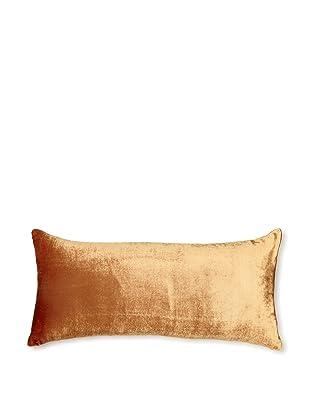 Kevin O'Brien Studio Ombre Velvet Pillow, Burnt Umber, 8