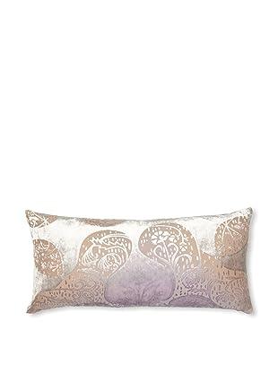 Kevin O'Brien Studio Persian Velvet Pillow, Iris, 8