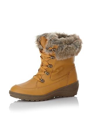 Cougar Women's Selena Leather Boot (Golden Tan)