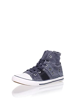 Billowy Kid's Hi-Top Sneaker (Blue)