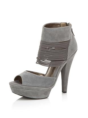 HK by Heidi Klum Women's Gillian Platform Sandal (Grey)