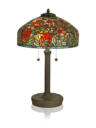 Dale Tiffany Table Lamp, Dark Antique Bronze