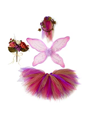 Tutu Couture Girl's Woodland Fairy Box Set (Hot Pink)