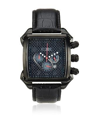 Equipe Men's Bumper Black/Grey Leather Watch