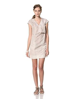 MARNI Women's Abstract Print V-Neck Dress (Multi)