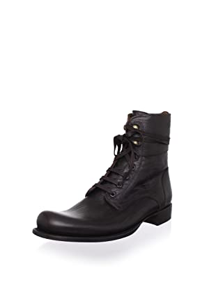 John Varvatos Men's Calf Convertible Boot (Dark Brown)