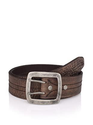 John Varvatos Star USA Men's Leather Belt (Brown)
