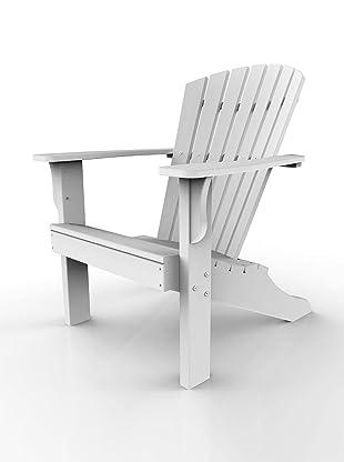 Malibu Outdoor Furniture Hyannis Adirondack Chair (White)