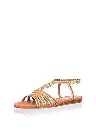 Pour La Victoire Women's Farida Sandal (Gold/Orange)