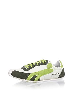 Cushe Women's So Fly Sneaker (White/Green)