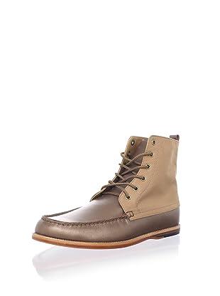Thorocraft Men's The Shelton Boot (Brown/Tan Canvas)