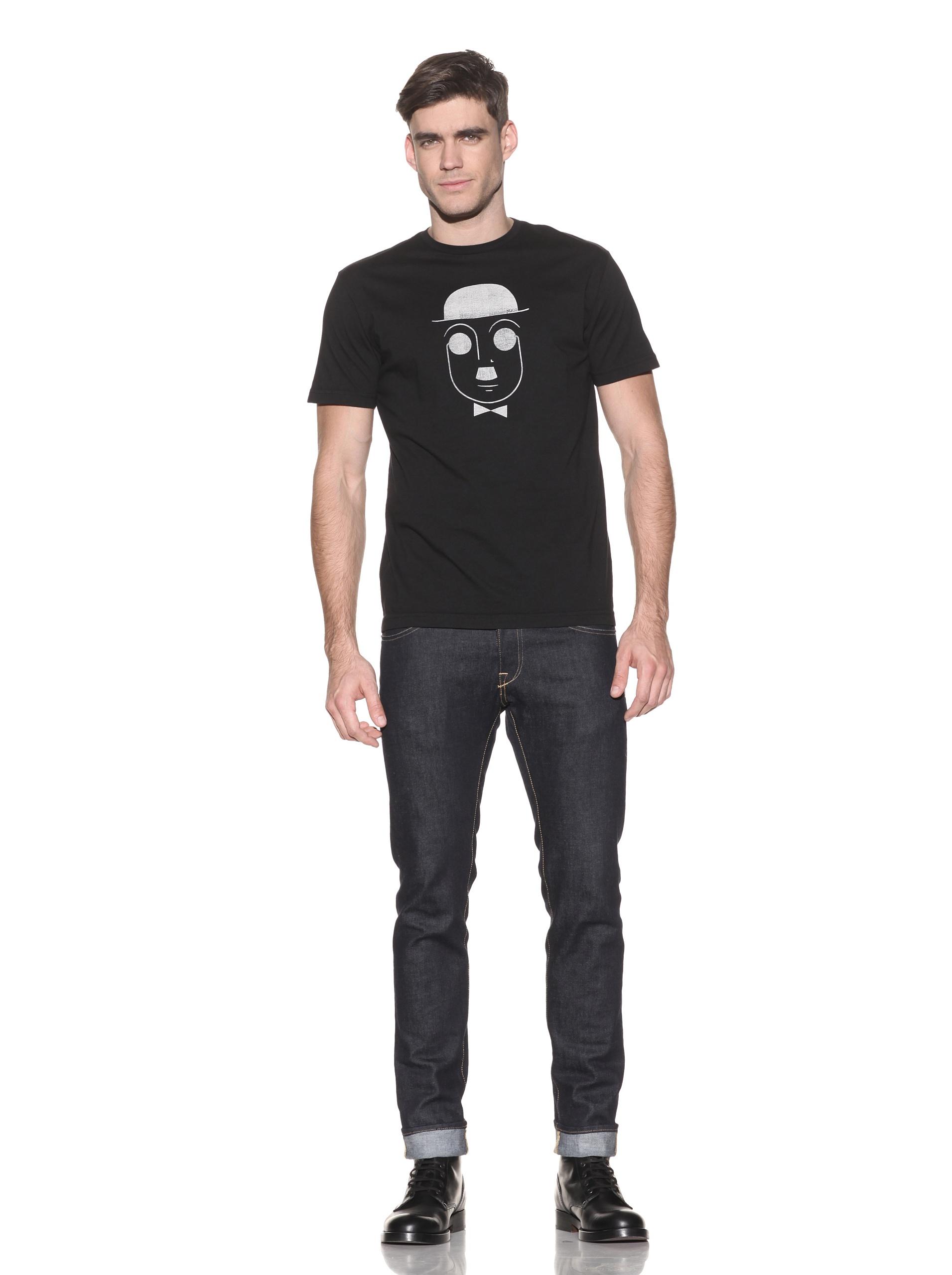 nüco Men's Bowler Graphic Tee (Black)