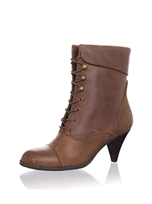 Bass Women's Genie Laced Boot (Brown)