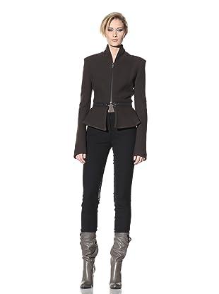 Haider Ackermann Women's Detachable Skirt Jacket (Chocolate)