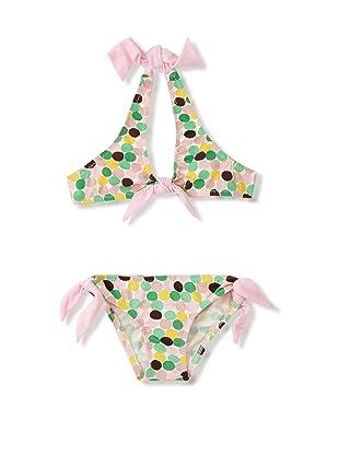 Eberjey Mini Girl's Camilla Yellow Submarine Bikini (Multi/Pink)