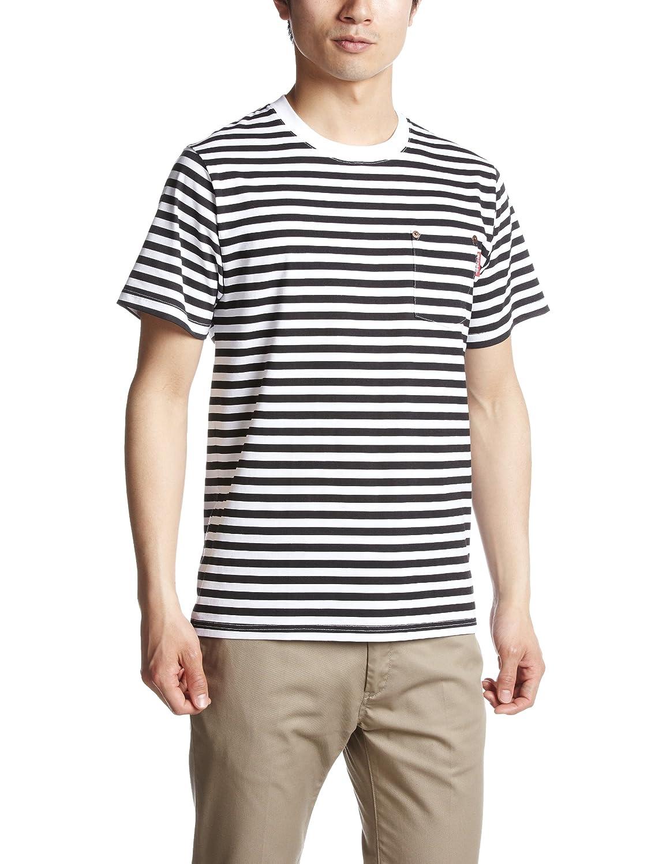 (ステューシー)STUSSY Pocket TAB Crew Stripe 12S814006 全5色