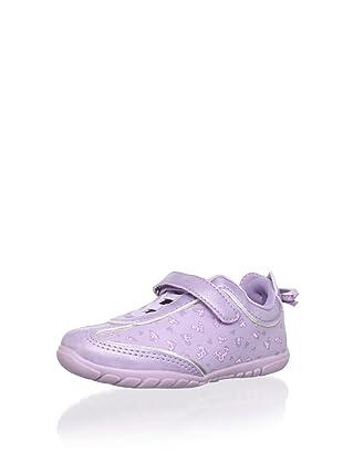 Pampili Kid's Hearts Sneaker (Lilac)